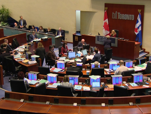 ¿Se reducirá el tamaño del consejo de la ciudad de Toronto?