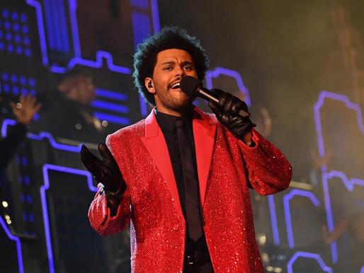 The Weeknd en el medio tiempo del Super Bowl LV