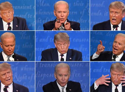 Reacción al primer debate presidencial