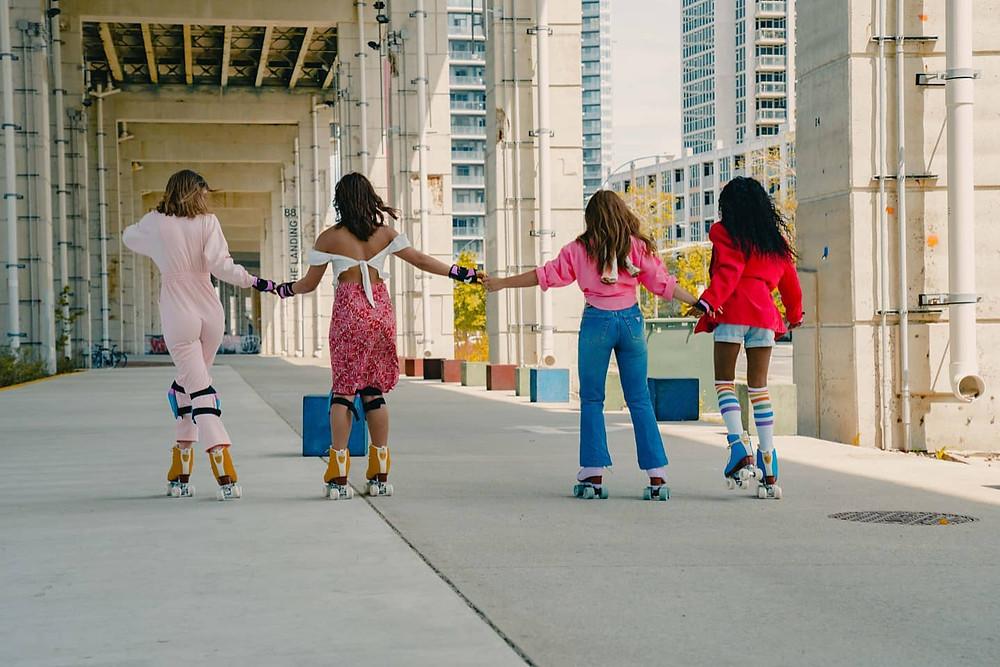 Retro Rolla es el primer evento de alquiler de patines de cuatro ruedas al aire libre de Toronto.