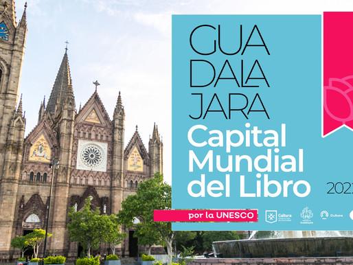 La UNESCO nombra a Guadalajara Capital Mundial del Libro para el 2022