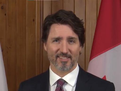 "Trudeau: ""Amigos míos, pronto terminará esta crisis"""