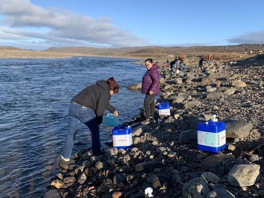 Se evidencian altas concentraciones de combustible en el agua de Iqaluit