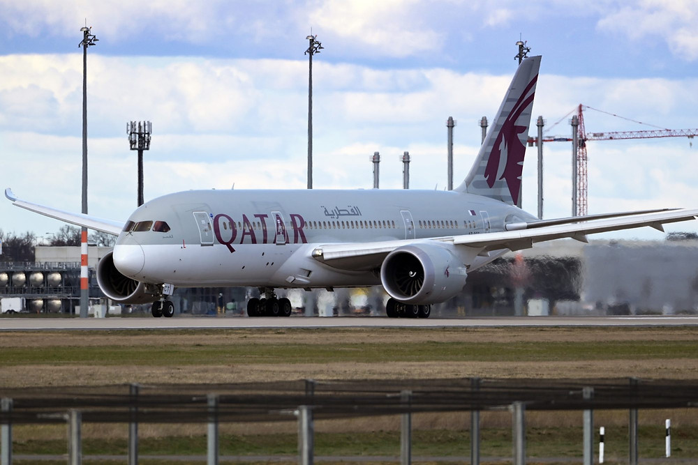Qatar Airways opera el primer vuelo completamente vacunado contra el COVID-19.