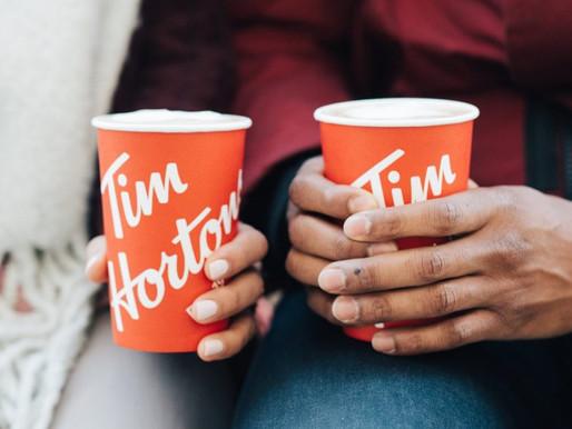"""No más bebidas """"doble taza"""" en Tim Hortons"""