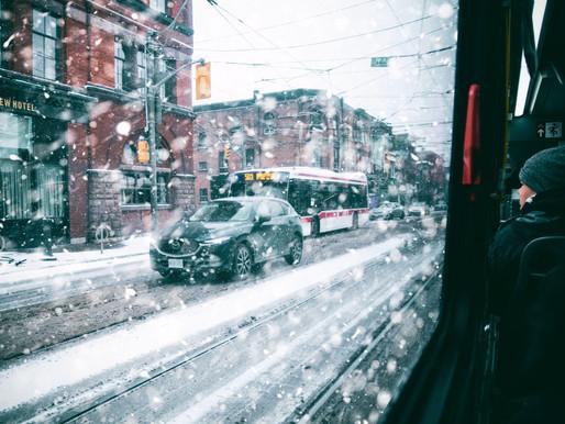 Mañana nevada en el GTA, alerta para York y Durham