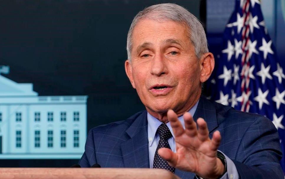 Dr. Anthony Fauci, director del Instituto Nacional de Alergias y Enfermedades Infecciosas.