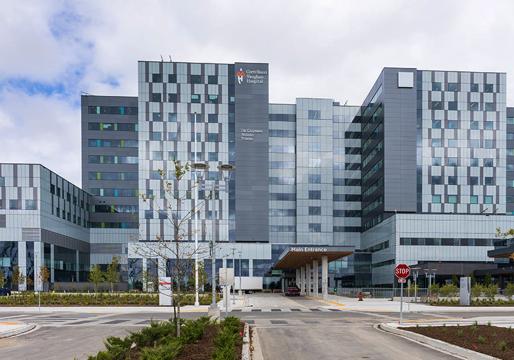 Hospital en Vaughan para controlar la pandemia