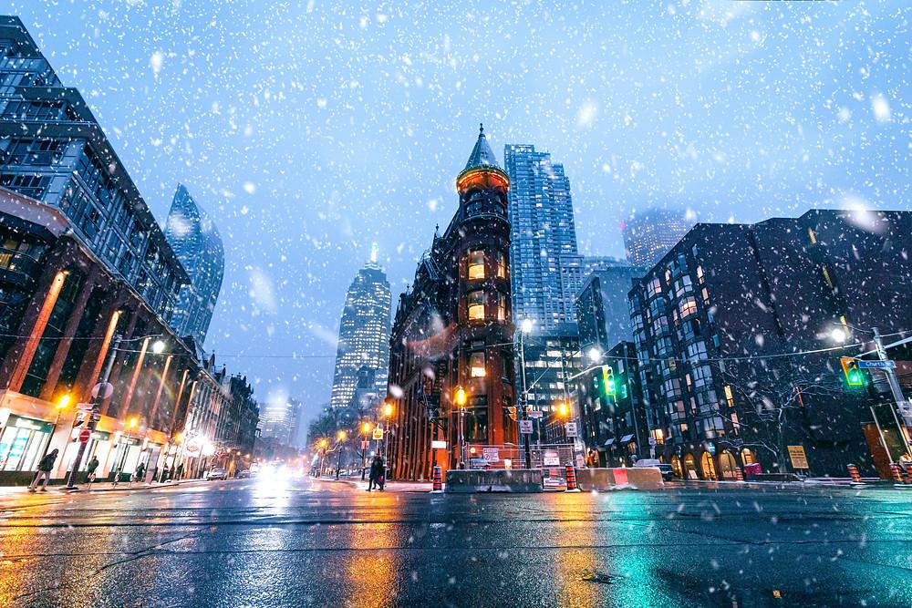 Alerta meteorológica emitida para Toronto antes de algo de nieve primaveral.