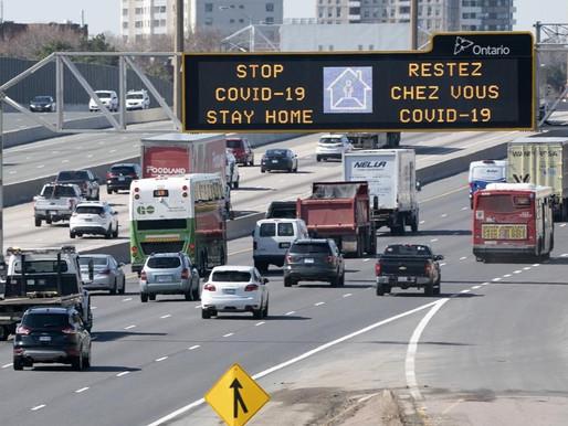 Reducción del tráfico de vehículos en Toronto