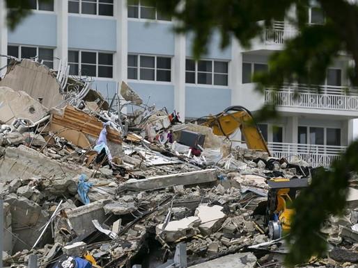 10 víctimas más encontradas en los escombros de un condominio colapsado en Florida