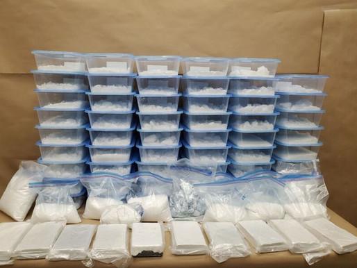 Incautación de más de $17 millones en drogas