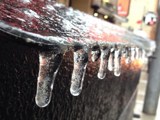 Probabilidad de lluvia helada en año nuevo
