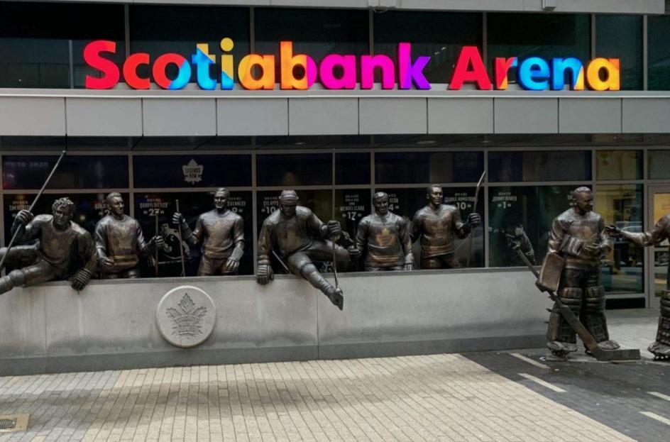 Scotiabank Arena en el centro de Toronto el 19 de marzo de 2020.
