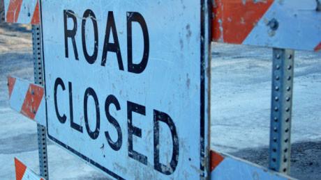 Allen Road estará cerrada desde el viernes por la noche hasta el lunes temprano.