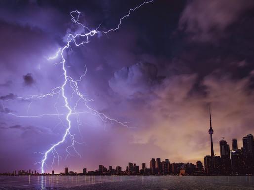 Advertencia de tormenta eléctrica severa para algunas partes del GTA