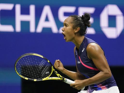La adolescente canadiense Leylah Fernandez avanza a la final del US Open