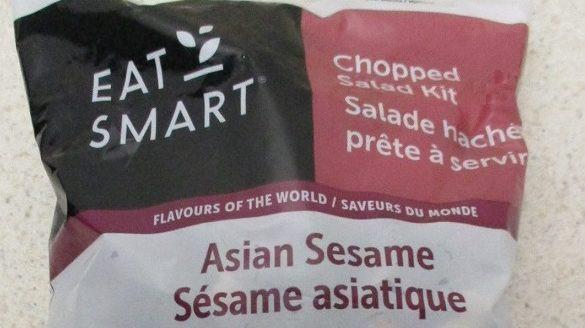 Curation Foods retiró su kit de ensalada asiática picada de sésamo de la marca Eat Smart por una posible contaminación por Listeria.