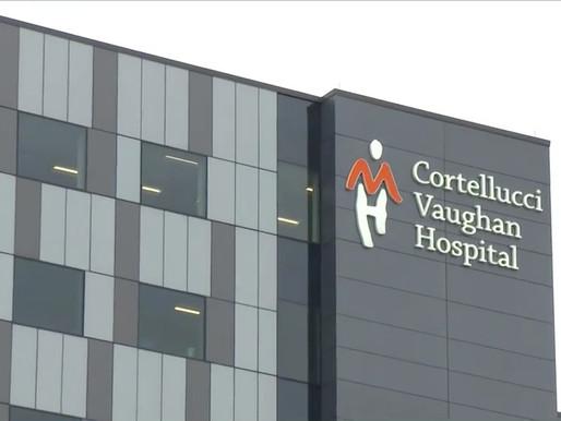 """Abre el nuevo """"hospital COVID-19"""" en Vaughan"""