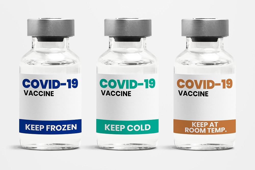 Las vacunas COVID-19 de Pfizer y Moderna COVID-19 muestran efectividad contra las variantes.