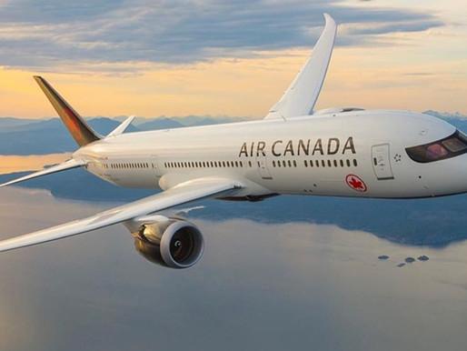 Air Canada suspende vuelos Canadá - Reino Unido