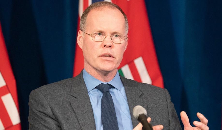 El copresidente de la mesa de asesoramiento científico COVID-19 de Ontario, el Dr. Adalsteinn Brown.