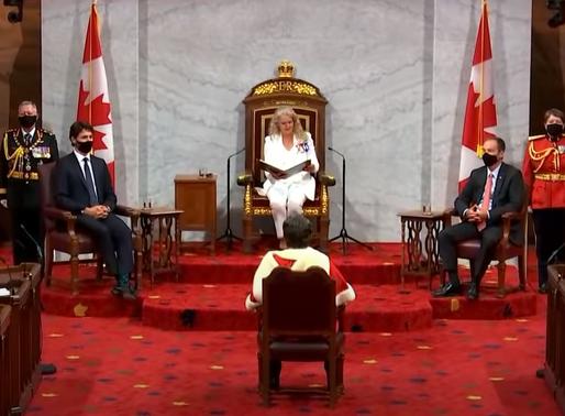Promesas de los liberales en el discurso del trono