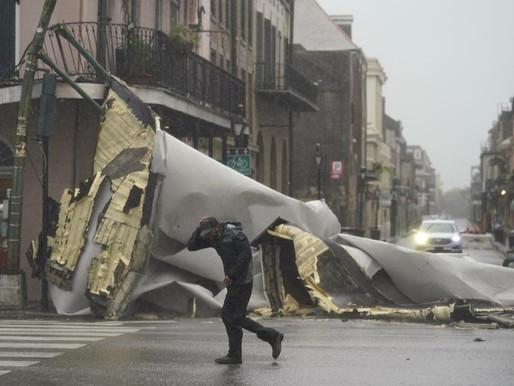 El huracán Ida deja sin electricidad a toda la ciudad de Nueva Orleans