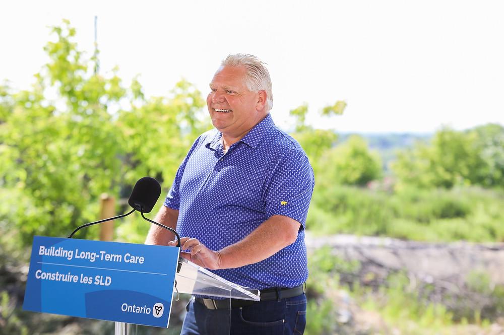 Ford afirma que Ontario no implementará los pasaportes de vacunación.