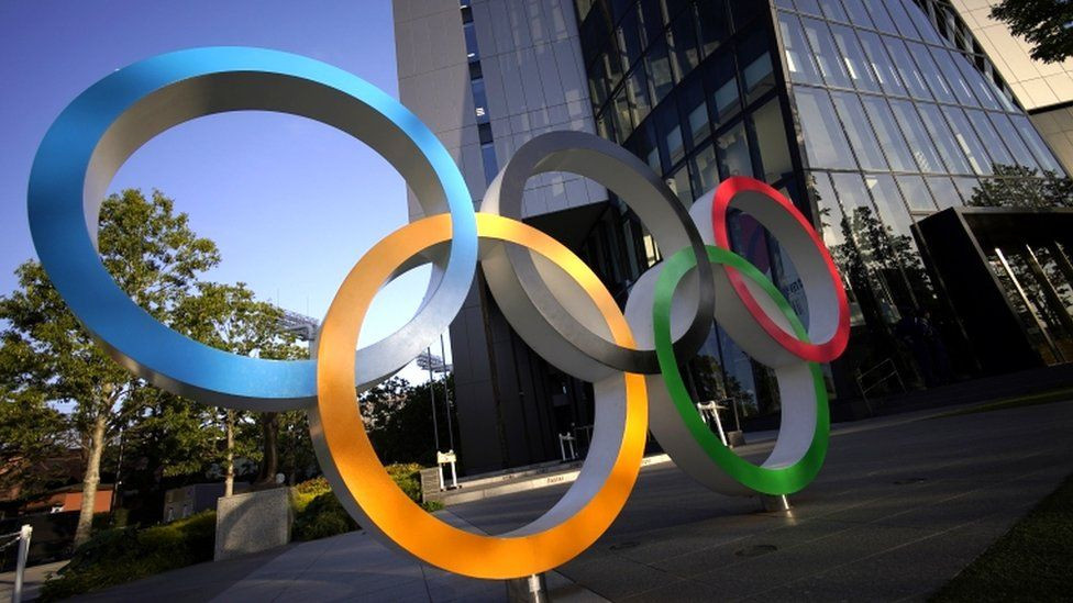 Los Juegos de Tokio programados para el verano pasado se retrasaron por la pandemia de COVID-19.