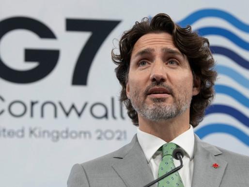 Trudeau y la delegación canadiense regresan a Canadá después de su viaje al extranjero