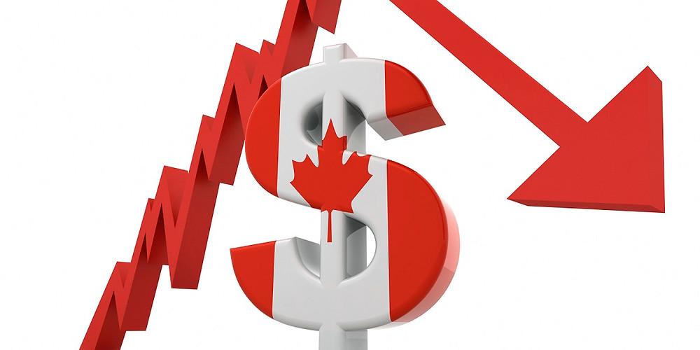 El PIB de Canadá disminuyó levemente en abril.