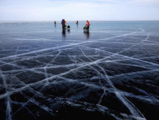 Condiciones inseguras del hielo después de varios rescates el fin de semana