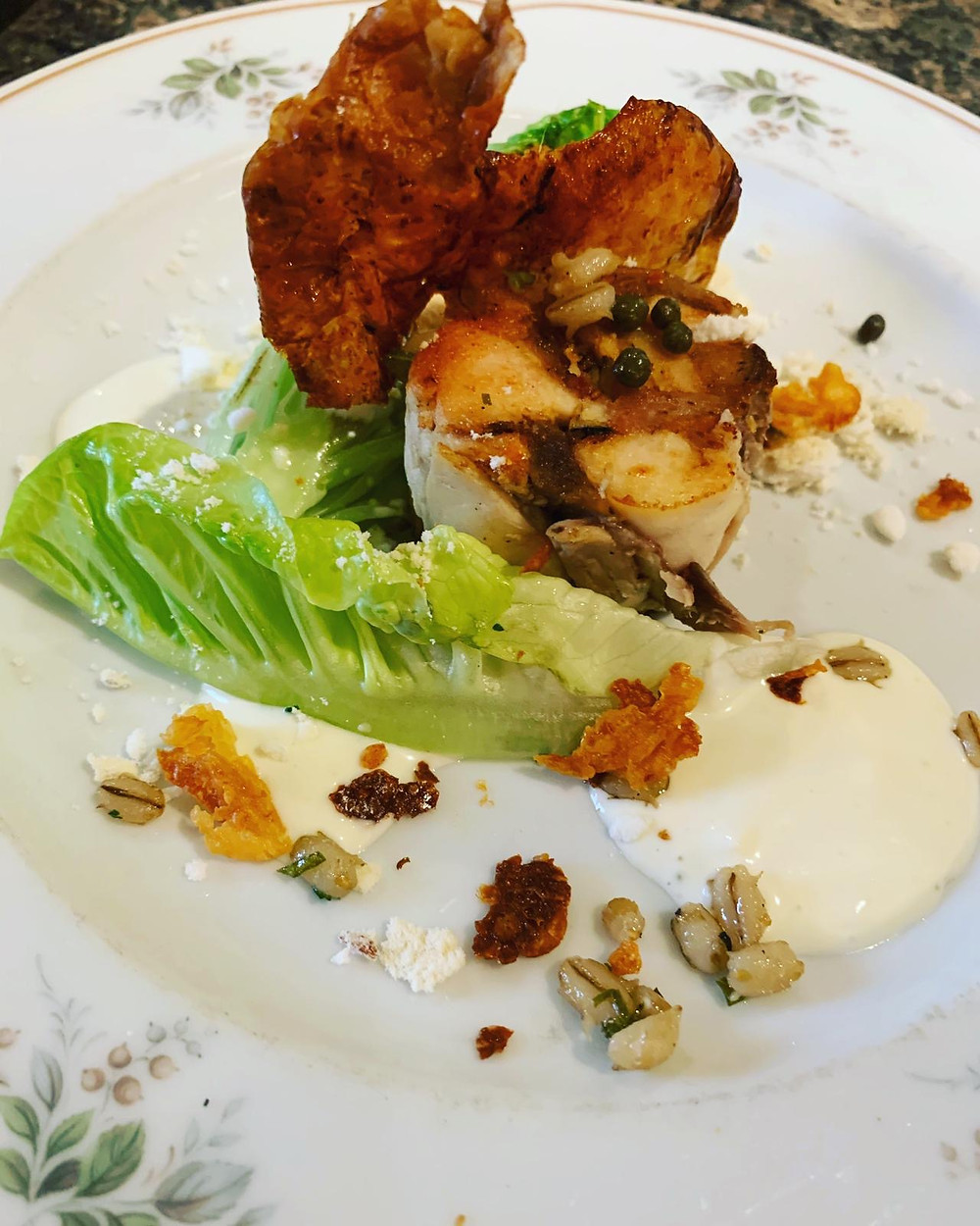 """Although the common known """"Caesar"""" salad has nothing to do with the Romans, I think a salad with acknowledgement to the heritage of the Romans in the Borderlands is well called for:"""