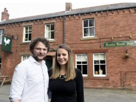 In the news: Couple take over pub that was damaged by fire
