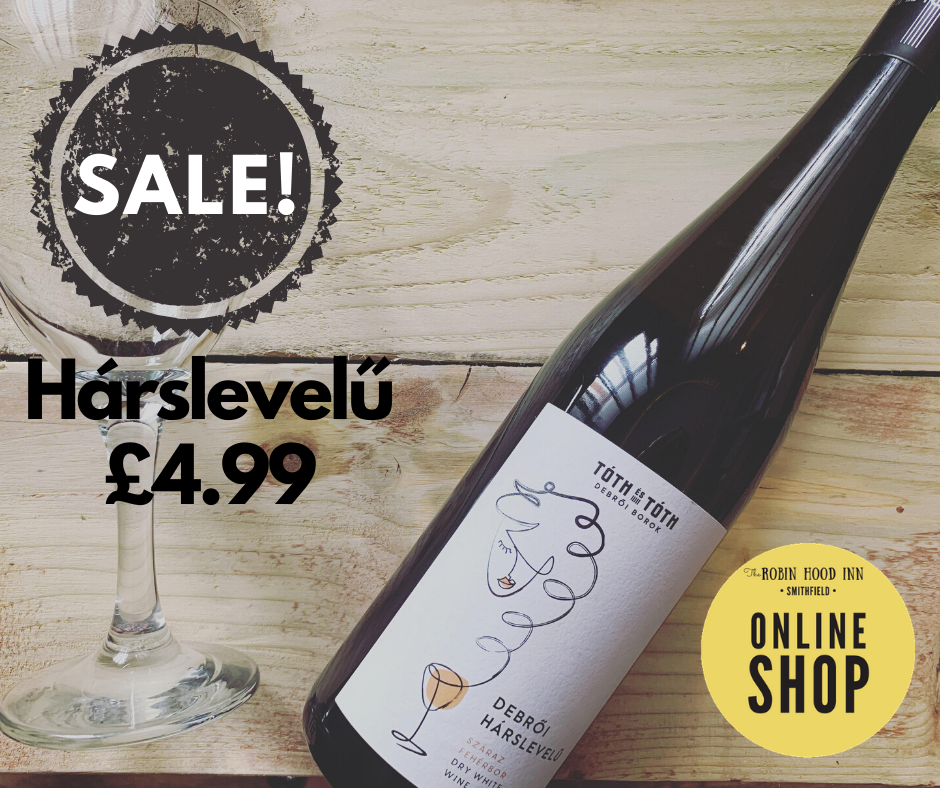 Category: dry white wine Region: Debrői - Eger   Harslevelu is a richly flavoured grape variety. When its not blended with furmint - it is dry, more herbaceous and full bodied     A dry white wine perfectly paired with poultry, pork, fresh herbs tarragon and cheese