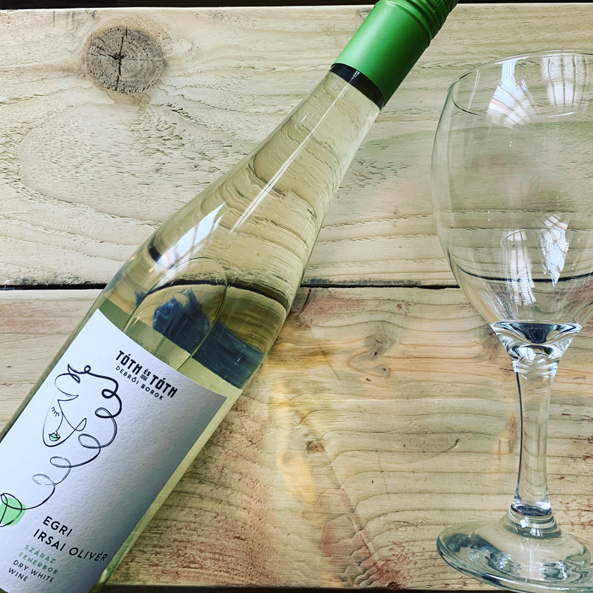 Category: dry white wine Region: Debrői - Eger     Chilled summer wine, similar to Pinot Grigio but has more flavour and fragrance to it. Light bodied, notes of tropical fruit, with rich floral and citrus aromas in the nose and a low acidity level.  In Hungary it is often drunk between meals usually with soda water its called as fröccs =Spritzer.     A dry white wine perfectly paired with spicy dishes or mediterranean cuisine.