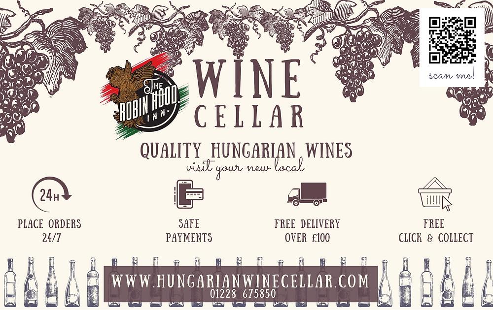 Online hungarian wine seller. Bulls blood, Cabernet, cuvée .