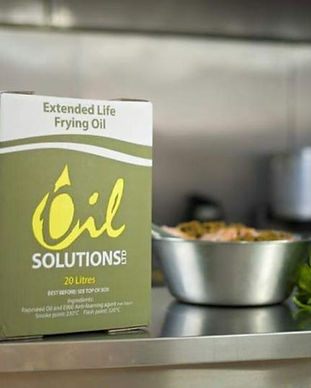 Recycled cooking oil