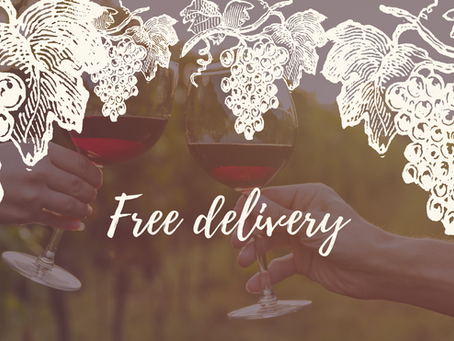Now even more options available for delivery of our Hungarian wine.