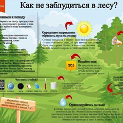 Правила безопасного поведения в лесу и на воде