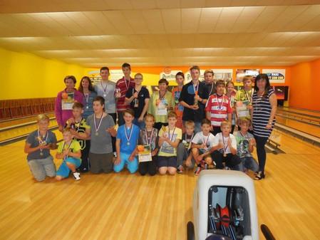 6. ročník MČR ve Školní bowlingové lize