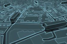 Géo data des parcours véhicules de livraison