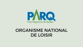 Une reconnaissance officielle du MEES pour PaRQ