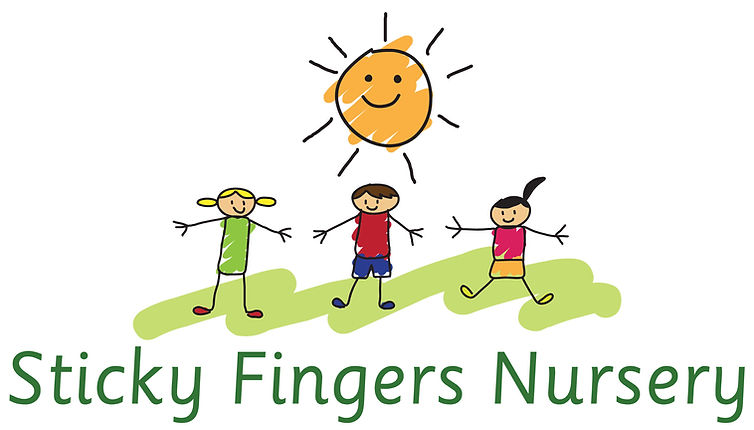 Sticky Fingers Nursery Logo