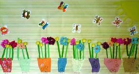 Sticky Fingers Nursery Spring Plant Pots
