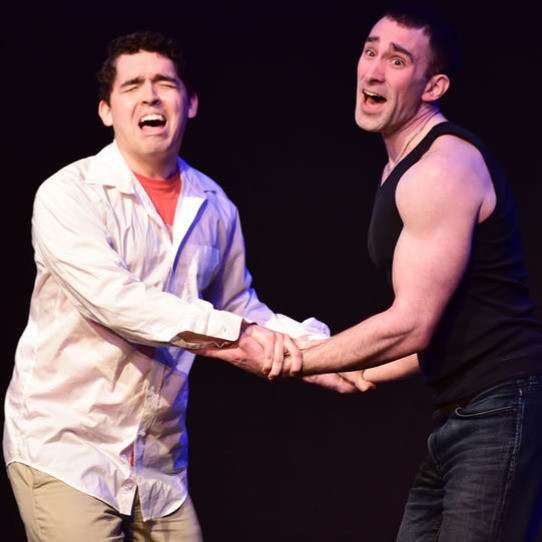 Medagán | Christian Caliva (left), Joe Godley (right) | Think Fast festival 2019