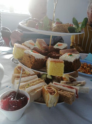 Treat yourself at the tea room