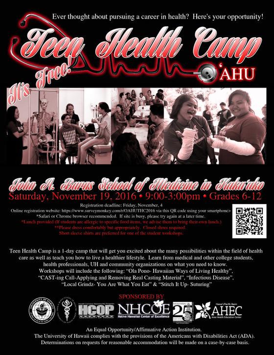 SII at Teen Health Camp