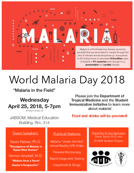 World Malaria Day 2018